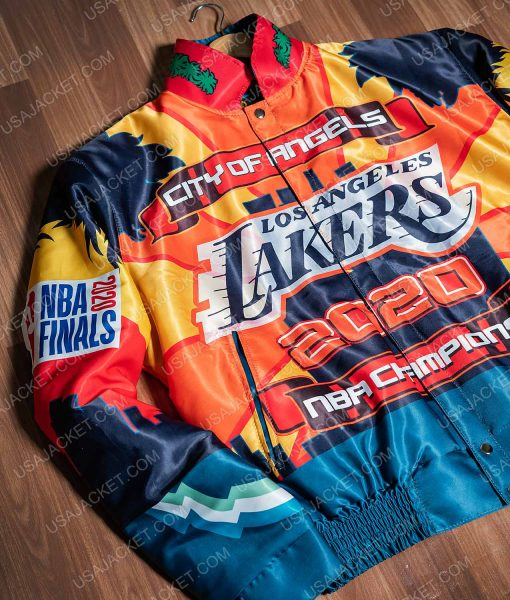 2020 Lakers Championship Jacket