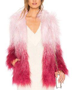 Savannah Lee May Julie and the Phantoms Carrie Faux Fur Jacket