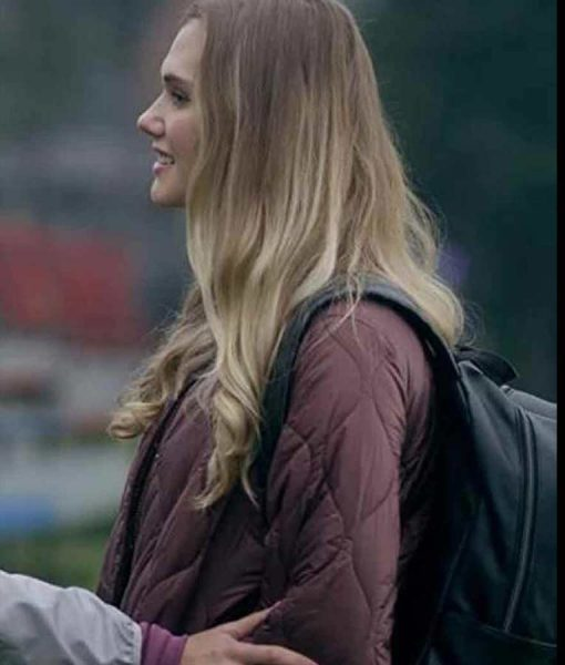 Cheer Squad Secrets Amelie Regan Quilted Jacket