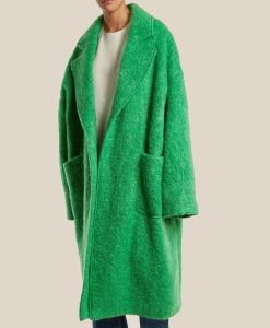 The Duchess Green Trench Coat