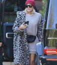 Keeping Up with the Kardashians Season 18 Khloé Kardashian Leopard Fur Coat