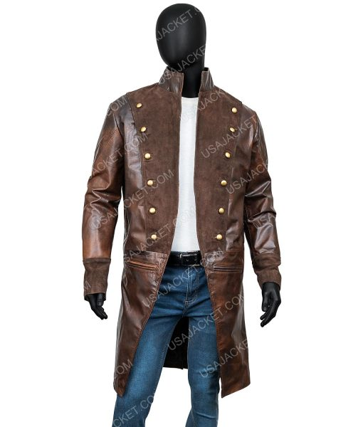 La Revolution Albert Guillotin Lionel Erdogan Leather Tailcoat