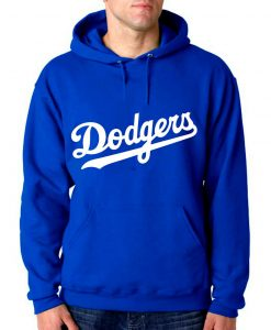Los Angeles Dodgers Baseball Team Hoodie