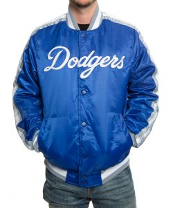 Baseball Team Blue Varsity Jacket