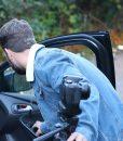 Louis Findlay Roadkill Josh Denim Jacket With Sherpa Collar