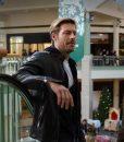 Luke Bracey Holidate 2020 Jackson Black Leather Jacket