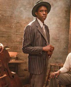 Ma Rainey's Black Bottom Chadwick Boseman Striped Blazer