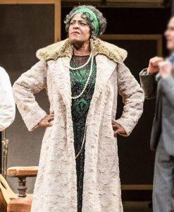 Ma Rainey's Black Bottom White Shearling Viola Davis Trench Coat