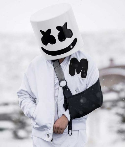 Marshmello White Jacket