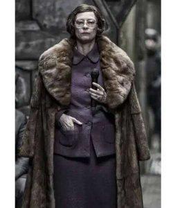 Mason Snowpiercer Tilda Swinton Fur Coat