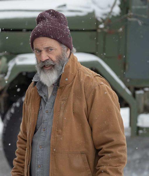 Mel Gibson Fatman Chris Jacket
