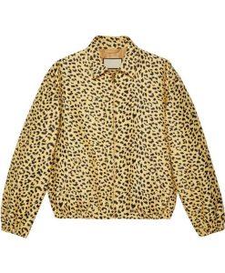 Jack Harlow Leopard Print Jacket