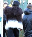 Once Upon a Time Cruella Deville Fur Jacket