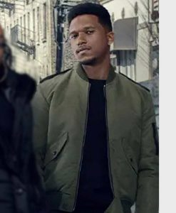 Power Book II Ghost Ezekiel Cross Bomber Jacket