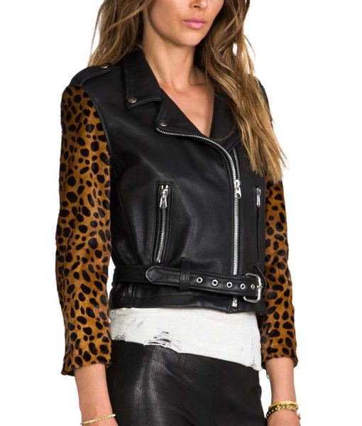 Aria Montgomery Pretty Little Liars Lucy Hale Leather Jacket