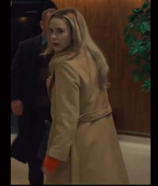 I'm Your Woman Jean Beige Trench Coat