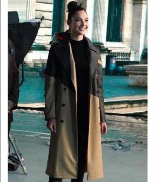 Red Notice Gal Gadot Coat