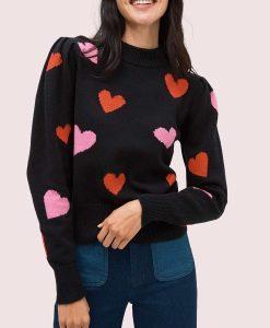 Madelaine Petsch Riverdale S04 Cheryl Blossom Heart Sweater