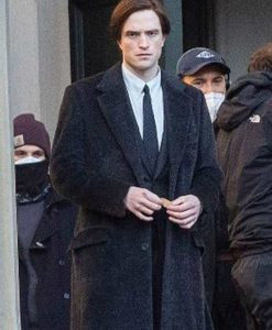 Robert Pattinson The Batman 2022 Bruce Wayne Long Coat