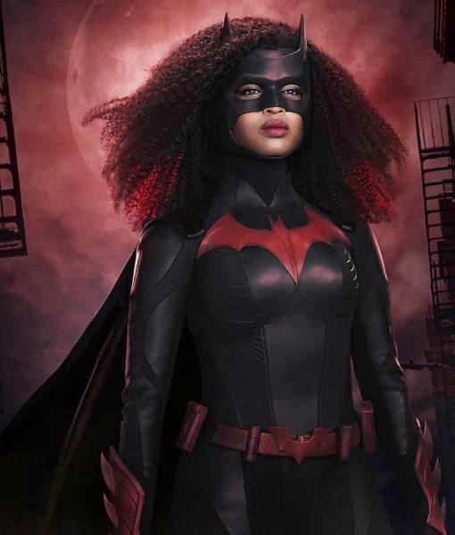 Ryan Wilder Batwoman S02 Javicia Leslie Leather Jacket