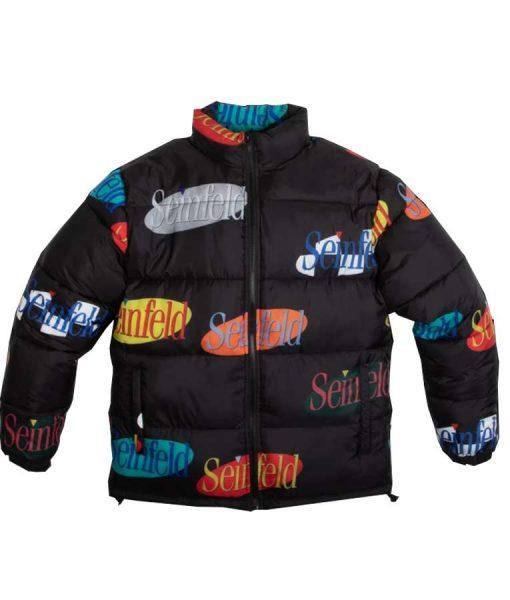 Seinfeld Multi Logo Puffer Jacket