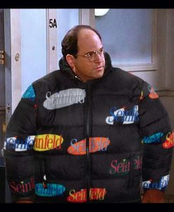 Seinfeld Logo Puffer Jacket