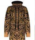 Selena Gomez Cheetah Print Sweater