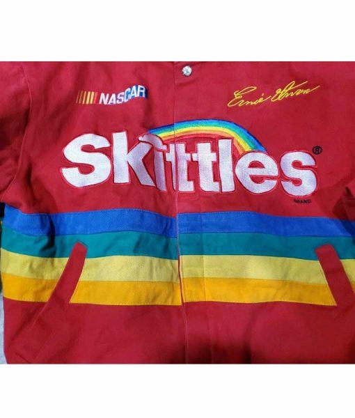 Skittles Racing Red Jacket