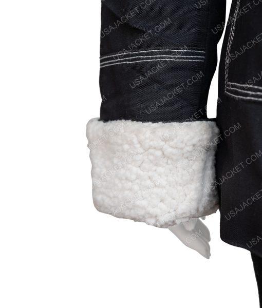 Sloane Holidate 2020 Jacket With Shearling Trim