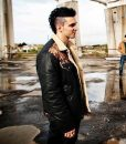 Suburra Alberto 'Spadino' Anacleti Leather Jacket