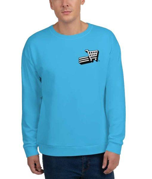 Supermarket Sweep Fleece Sweatshirt