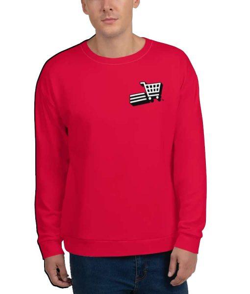Supermarket Sweep Fleece Crewneck Sweatshirt