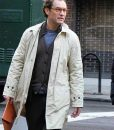 A Rainy Day In New York Jude Law Ted Davidoff Coat