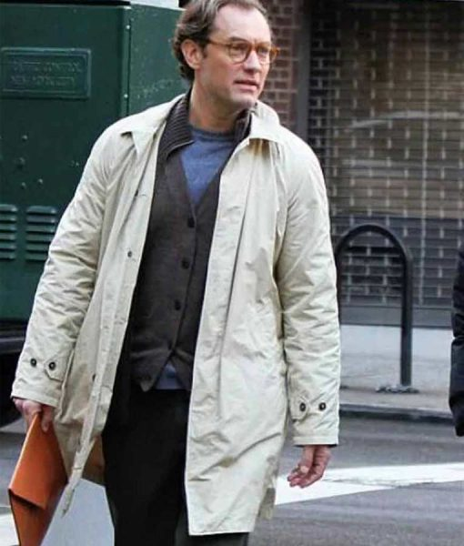 Ted Davidoff A Rainy Day In New York Jude Law Coat