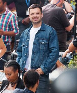 Sebastian Stan The 355 Denim Jacket