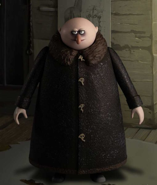 The Addams Family 2 Uncle Fester Coat