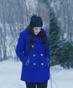The Christmas Listing Julia Rogers Double-Breasted Coat
