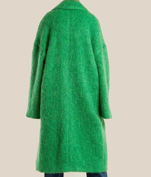 The Duchess Katherine Ryan Green Coat