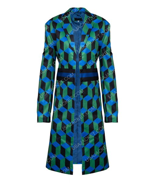 The Duchess Katherine Ryan Checkered Coat