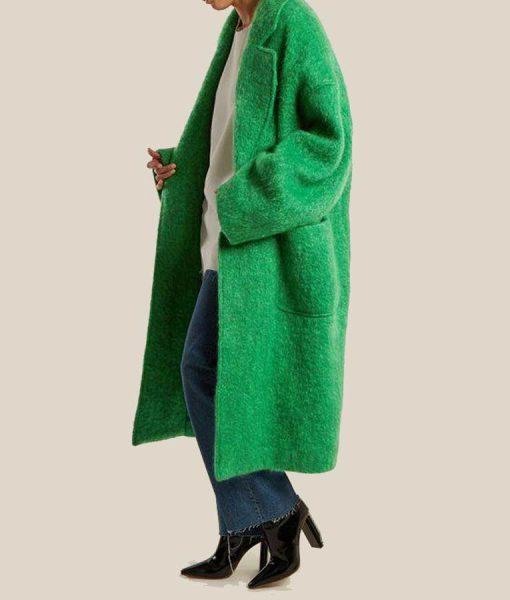 Katherine Ryan The Duchess Green Trench Coat