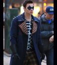 Devon Graye The Flash The Trickster Coat With Studs