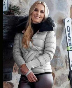 The Pack Lindsey Vonn Puffer Hooded Jacket For Women