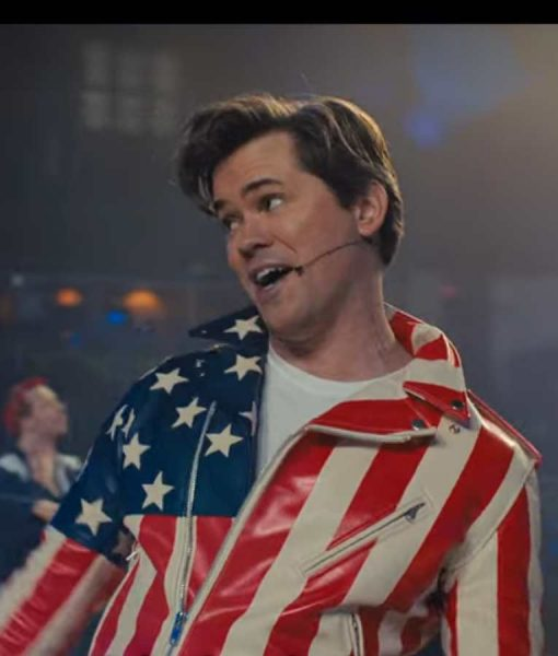The Prom Barry Glickman American Flag Jacket