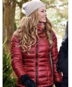 The Santa Squad Rebecca Dalton Puffer Jacket