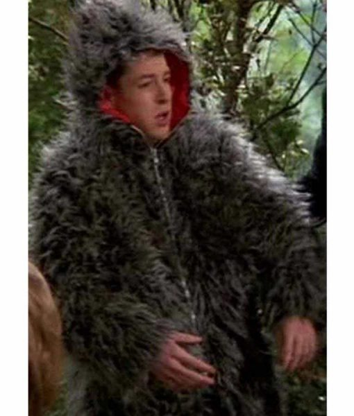 3rd Rock from the Sun Harry Reversible Fur Hooded Jacket