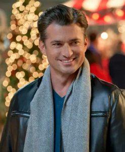 A Nashville Christmas Carol Wes Brown Leather Jacket