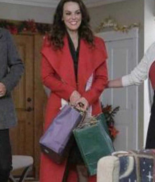 A Timeless Christmas Erin Cahill Megan Trench Coat