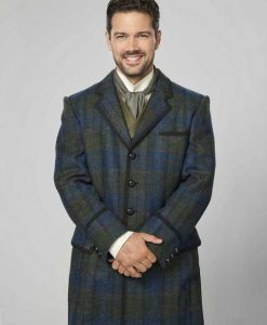 A Timeless Christmas Ryan Paevey Plaid Coat