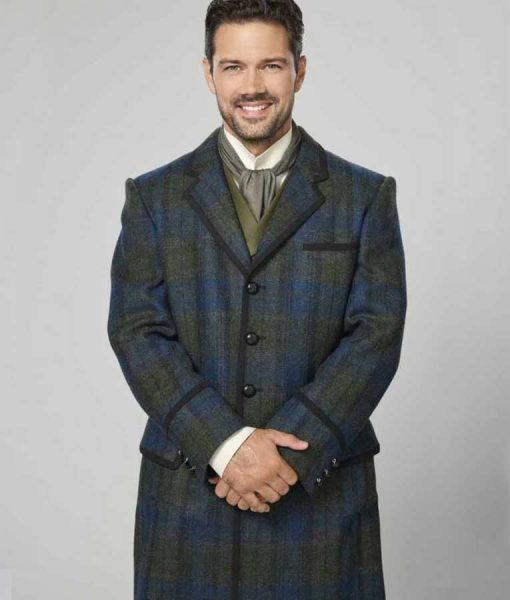 A Timeless Christmas Ryan Paevey Plaid Coat