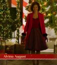 Alvina August Deliver by Christmas Molly Red Coat